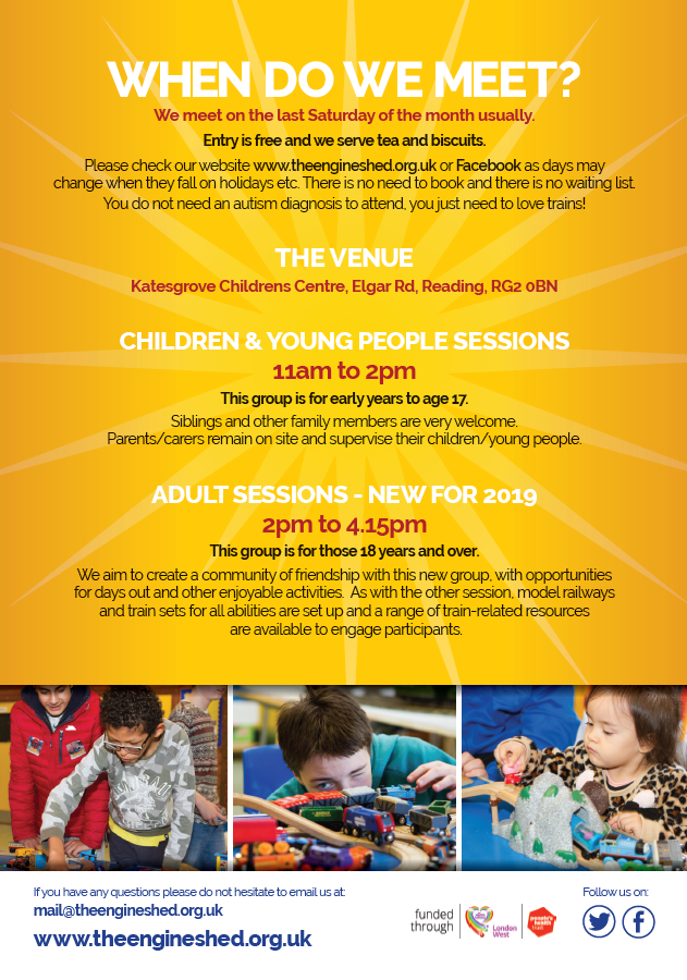 News | The Engine Shed | Monthly Train Club for Children on